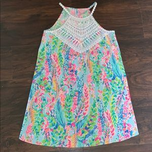 Lilly Pulitzer Catch The Wave Pearl Dress size 4